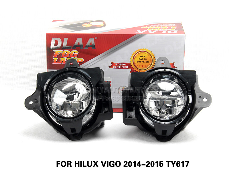 DLAA  Fog Lamp Set Bumper Lamp FOR HILUX VIGO 2014-2015 TY617