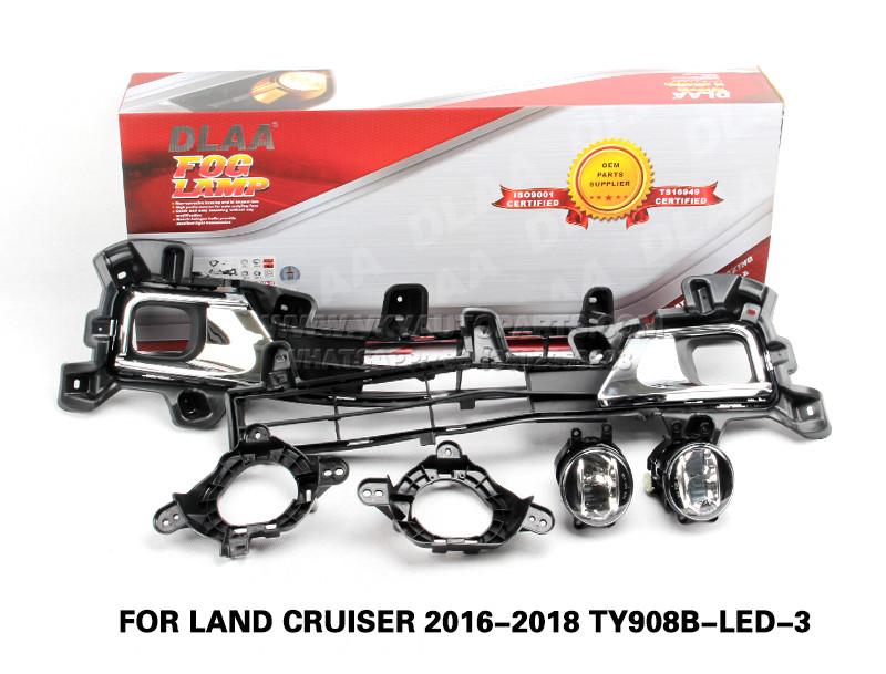 DLAA Fog Lamp Set Bumper Lamp For LAND CRUISER 2016-2018 TY908B-LED-3