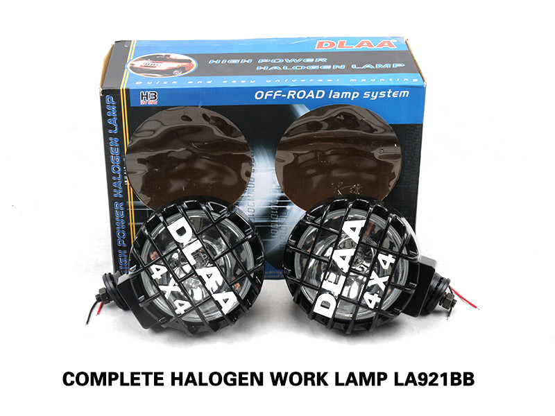 COMPLETE HALOGEN WORK LAMP LA921BB