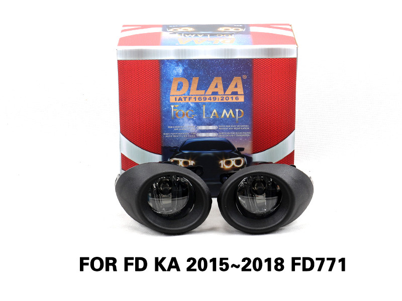 DLAA Fog Lamps Set Bumper Lights with wire FOR FD KA 2015~2018 FD771