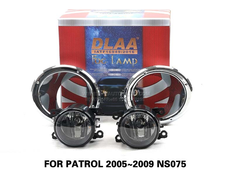 DLAA FogLamps Set Bumper Lights withwire FOR PATROL 2005~2009 NS075