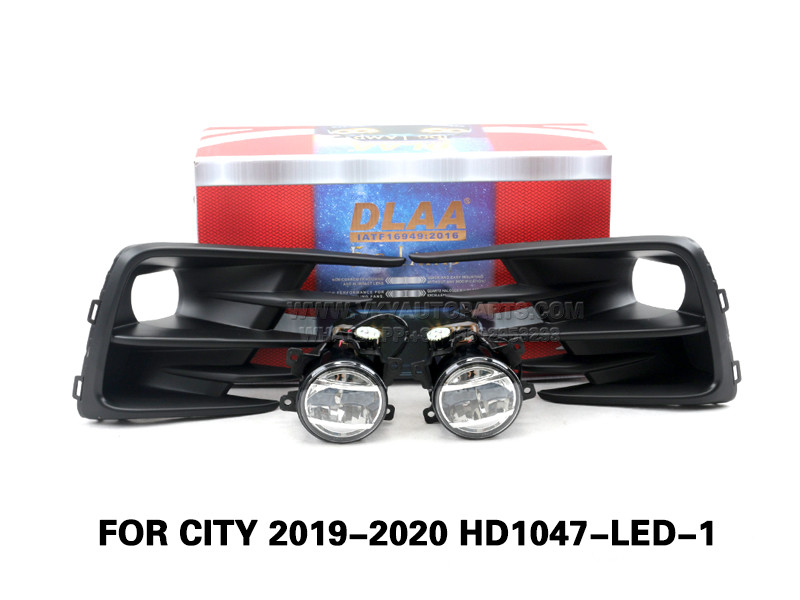 DLAA Led FogLamps Set Bumper Lights withwire FOR CITY 2019-2020 HD1047-LED-1