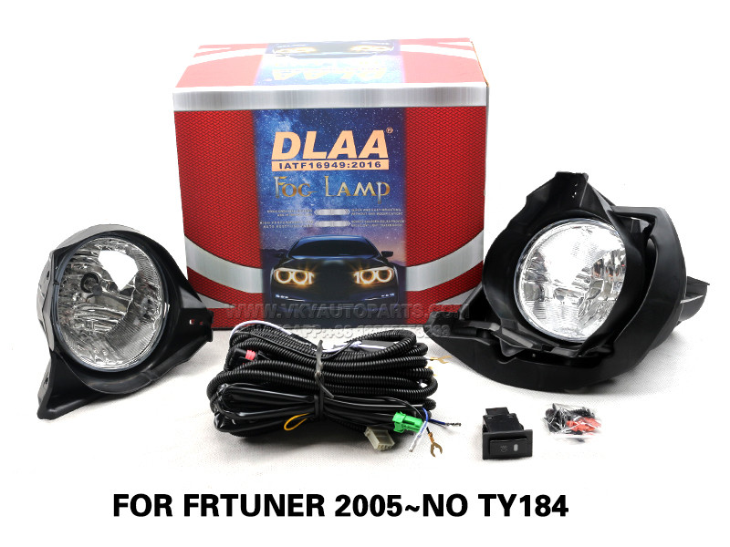 DLAA FogLamps Set Bumper Lights withwire FOR FRTUNER 2005~NO TY184