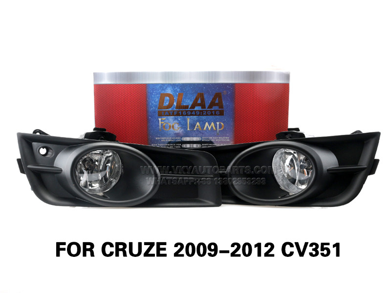 DLAA FogLamps Set Bumper Lights withwire FOR CRUZE 2009-2012 CV351