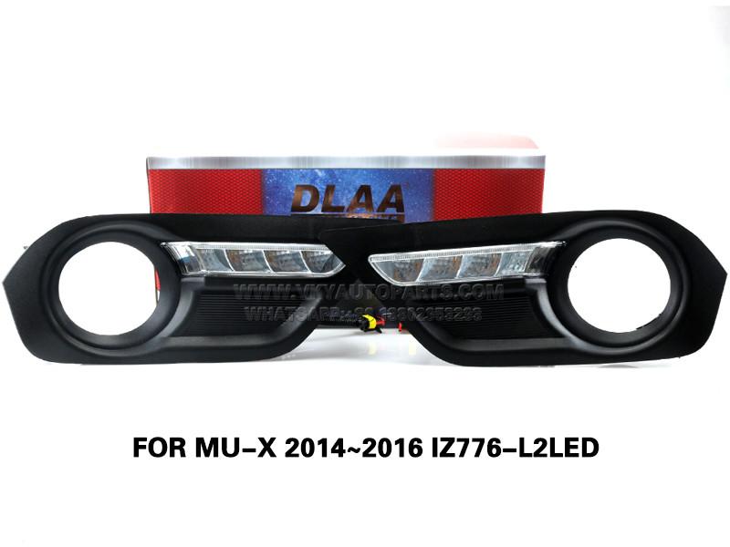 DLAA Led FogLamps Set Bumper Lights withwire FOR MU-X 2014~2016 IZ776-L2LED