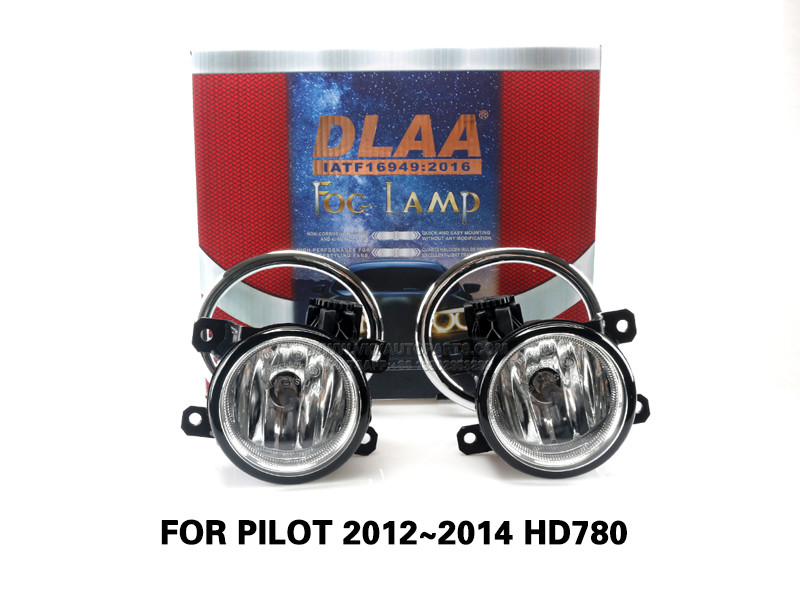 DLAA  FogLamps Set Bumper Lights withwire FOR PILOT 2012~2014 HD780