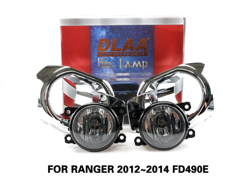 DLAA Fog Lamps Set Bumper Lights withwire FOR RANGER 2012~2014 FD490E