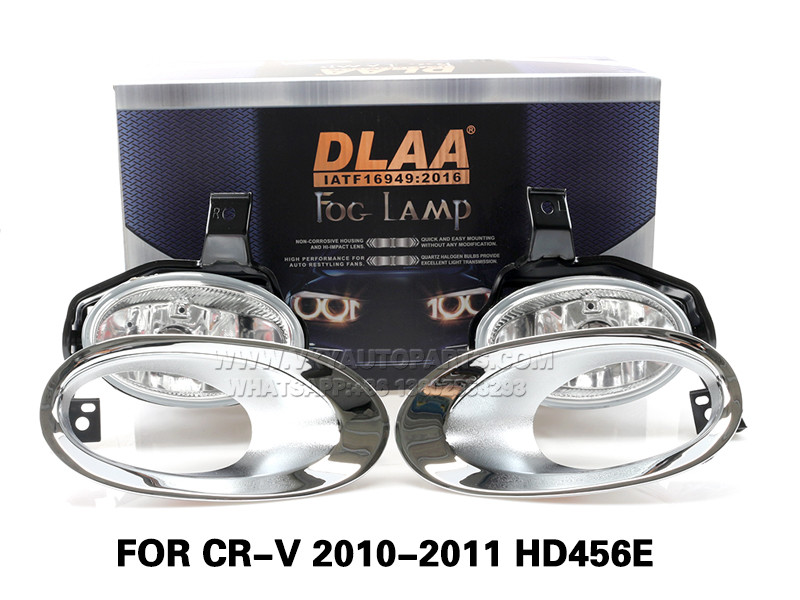 DLAA Fog Lamps Set Bumper Lights withwire FOR CR-V 2010-2011 HD456E