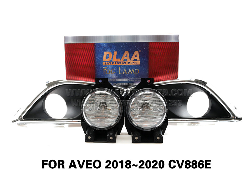 DLAA Fog Lamps Set Bumper Lights withwire FOR AVEO 2018~2020 CV886E