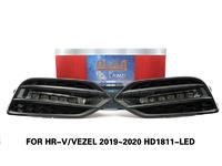 DLAA LED Fog Lamps Set Bumper Lights withwire  FOR HR-V VEZEL 2019~2020 HD1811-LED