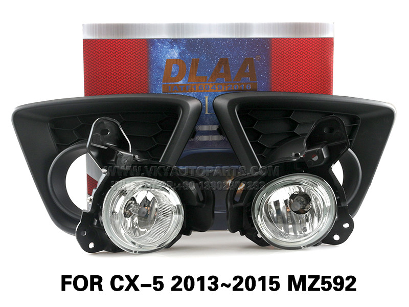 DLAA Fog Lamps Set Bumper Lights withwire  FOR CX-5 2013~2015 MZ592