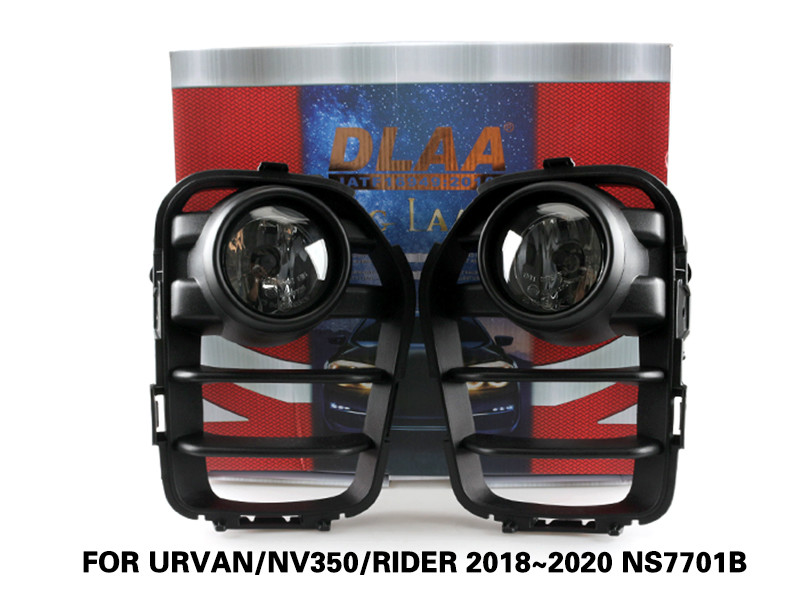 DLAA Fog Lamps Set Bumper Lights withwire FOR URVAN NV350 RIDER 2018~2020 NS7701B
