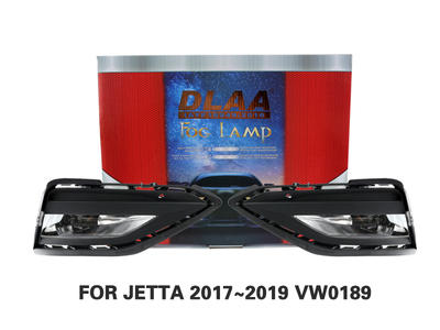 DLAA Fog Lamps Set Bumper Lights withwire FOR JETTA 2017~2019 VW0189