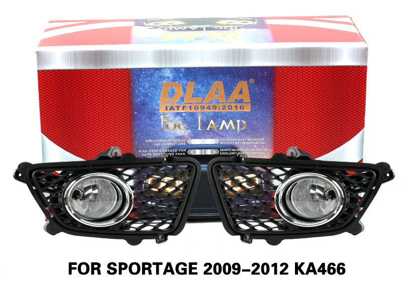 DLAA Fog Lamps Set Bumper Lights withwire FOR SPORTAGE 2009-2012 KA466