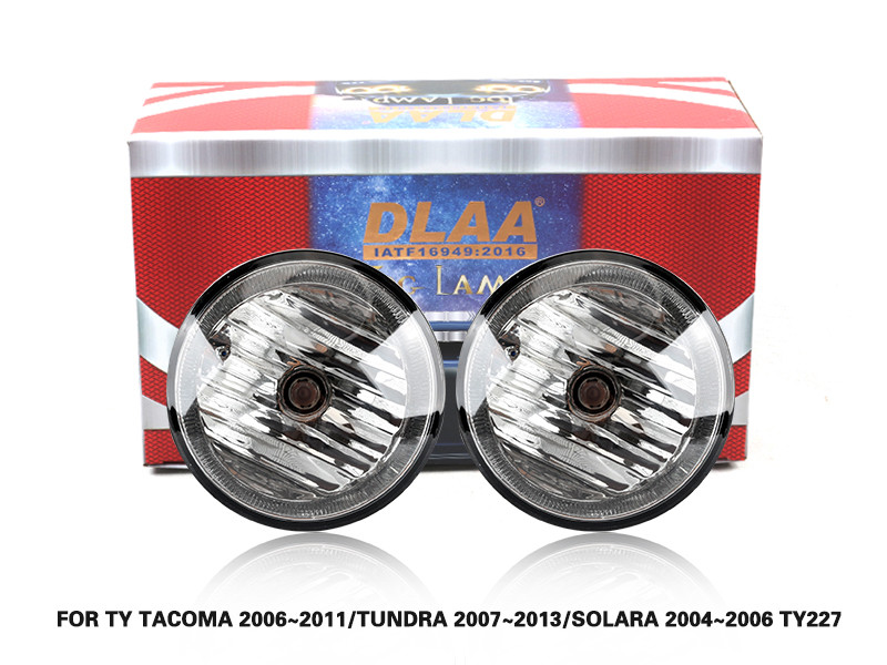 DLAA Fog Lamps Set Bumper Lights withwire FOR TY TACOMA 2006~2011 TUNDRA 2007~2013 SOLARA 2004~2006 TY227
