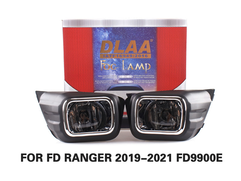 DLAA Fog Lamps Set Bumper Lights withwire FOR FD RANGER 2019-2021 FD9900E