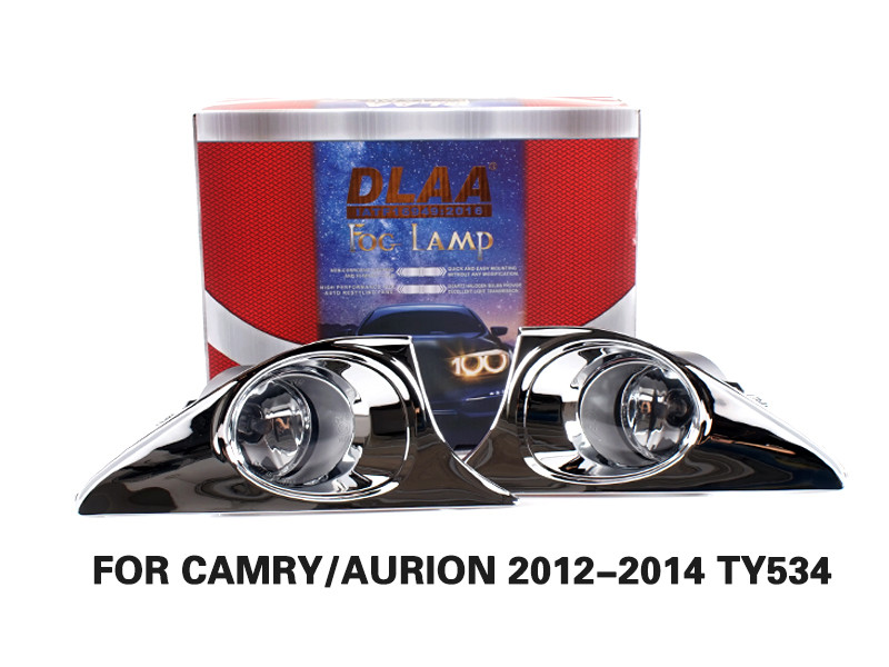 DLAA Fog Lamps Set Bumper Lights withwire FOR CAMRY AURION 2012-2014 TY534