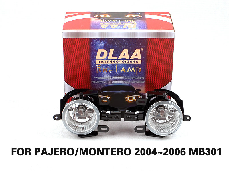DLAA Fog Lamps Set Bumper Lights withwire FOR PAJERO MONTERO 2004~2006 MB301