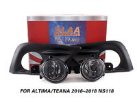 DLAA Fog Lamps Set Bumper Lights withwire For Altima Teana 2016~2018 NS118