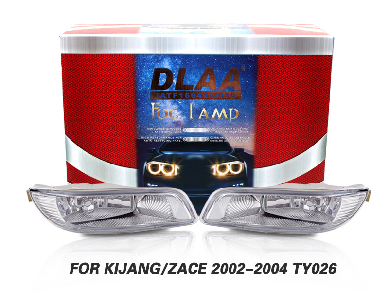 DLAA Fog Lamps Set Bumper Lights withwire FOR KIJANG ZACE 2002-2004 TY026