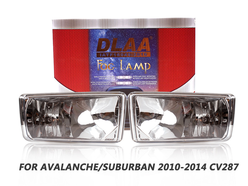 DLAA Fog Lamps Set Bumper Lights withwire FOR AVALANCHE SUBURBAN 2010-2014 CV287