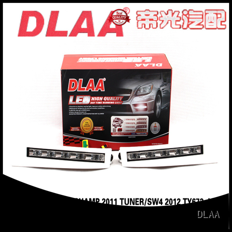 DLAA daytime universal fog lights for cars for business for Toyota Cars