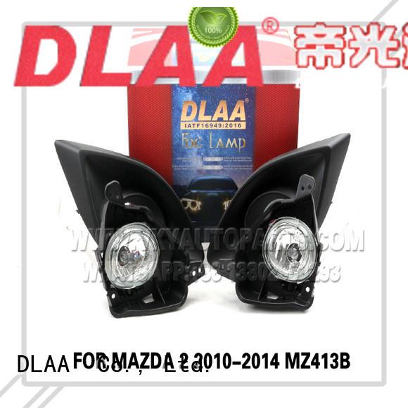DLAA Custom small round fog lights Supply for Mazda Cars