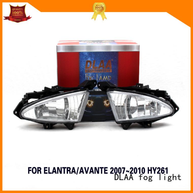 DLAA Wholesale round led fog lamps company for Hyundai Cars