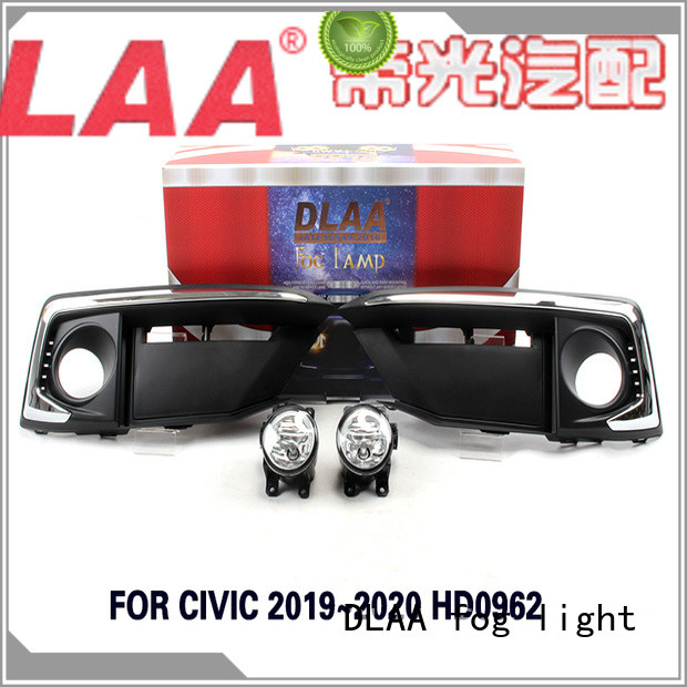 DLAA Best rectangular led fog lights Suppliers for Honda Cars