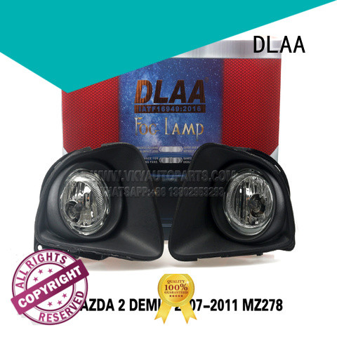 DLAA Custom small round fog lights company for Mazda Cars