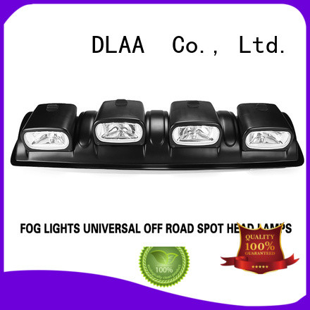 DLAA tractor black led light bar factory for Cars