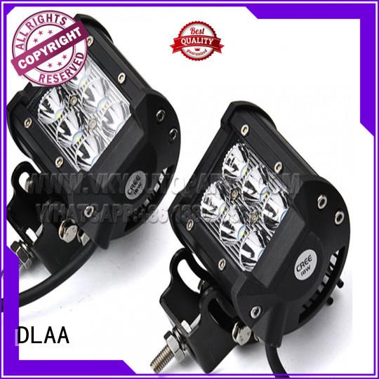 DLAA black vehicle light bar Supply for Cars