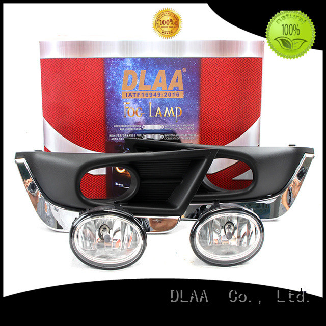 DLAA dlaacompletefoglampsetbumperlightwithwireharness mini fog lights for business for Honda Cars
