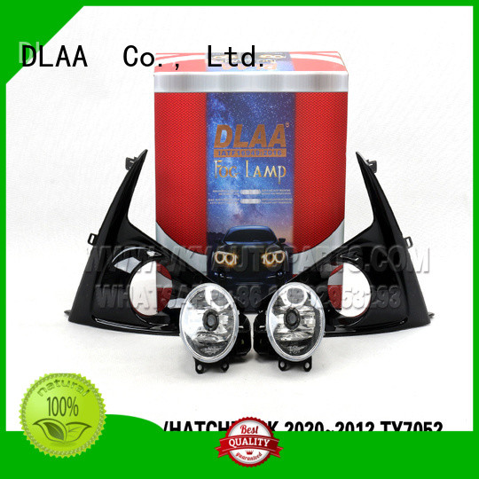 DLAA ty9107 3 inch round fog lights Supply for Toyota Cars