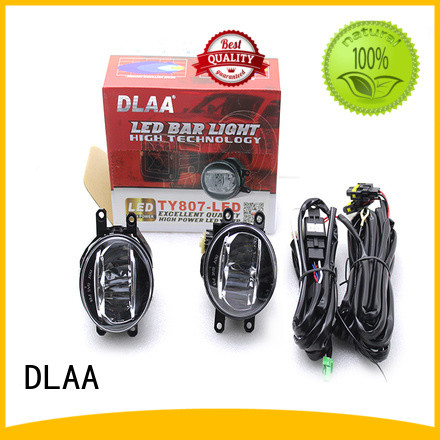 DLAA toyota universal led fog lights for business for Automotives