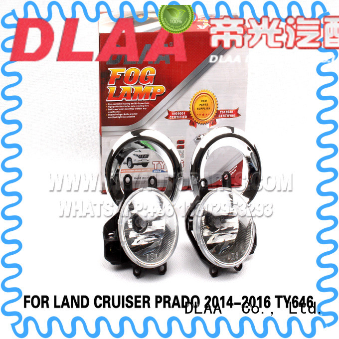 DLAA Custom red fog lights Supply for Toyota Cars