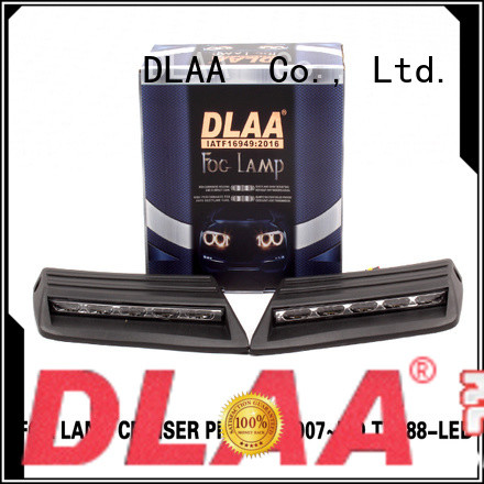 DLAA chr universal fog lights for cars factory for Toyota Cars