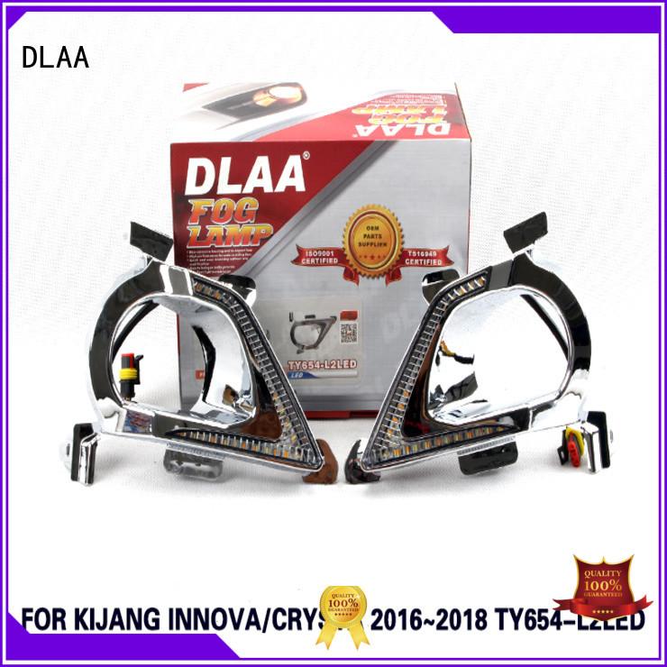 DLAA 6500k red fog lights factory for Toyota Cars