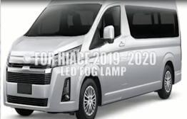 DLAA Launch New Led Fog Lamp For TOYOTA HIACE with 5LED Bulb DRL