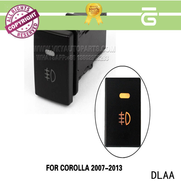 DLAA High-quality fog light switch Supply for cars