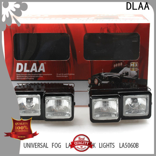DLAA work universal led fog lights factory for Automotives