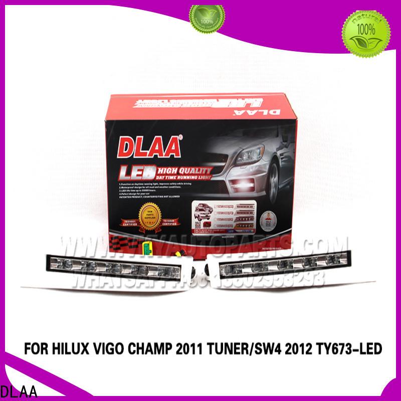 DLAA harness universal fog lights for cars factory for Toyota Cars