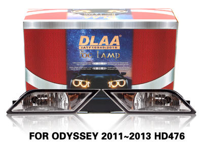 DLAA Fog Lamps Set Bumper Lights withwire FOR ODYSSEY 2011~2013 HD476