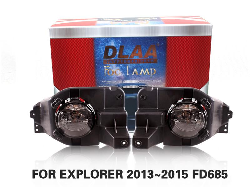 DLAA Fog Lamps Set Bumper Lights withwire FOR EXPLORER 2013~2015 FD685
