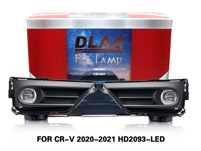 DLAA Fog Lamps Set Bumper Lights withwire FOR CR-V 2020-2021 HD2093-LED