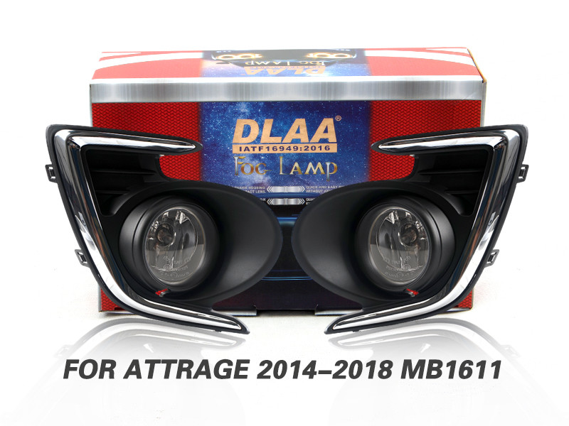 DLAA Fog Lamps Set Bumper Lights withwire FOR ATTRAGE 2014-2018 MB1611