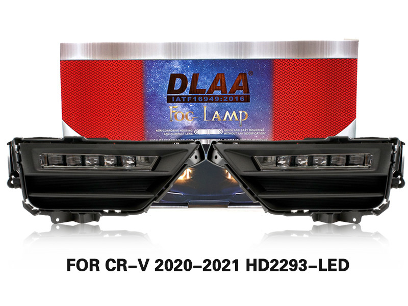 DLAA Fog Lamps Set Bumper Lights withwire FOR CR-V 2020-2021 HD2293-LED