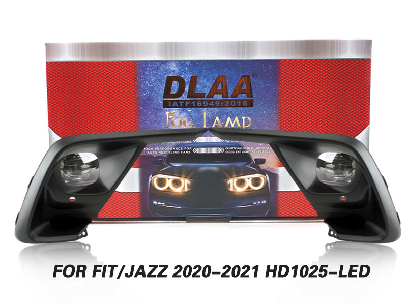 DLAA Fog Lamps Set Bumper Lights withwire FOR FIT JAZZ 2020-2021 HD1025-LED