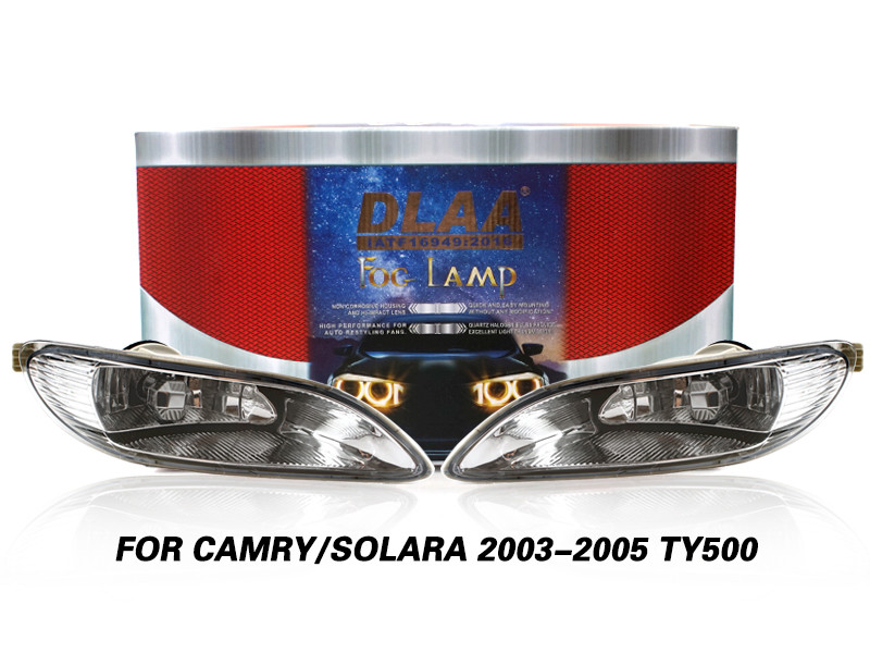 DLAA Fog Lamps Set Bumper Lights withwire FOR CAMRY SOLARA 2003-2005 TY500