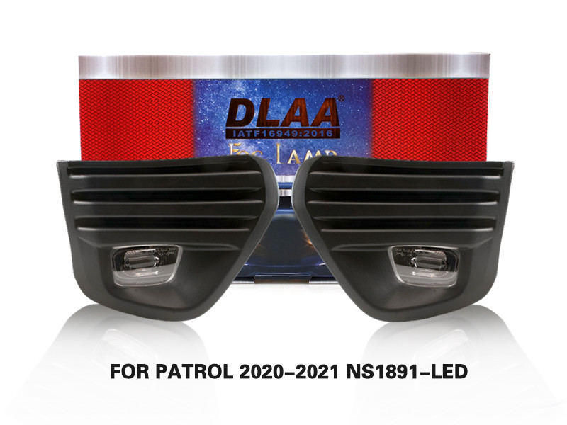 DLAA Fog Lamps Set Bumper Lights withwire FOR PATROL 2020-2021 NS1891-LED